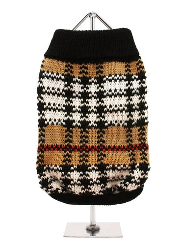 Black & Brown Autumn Sweater