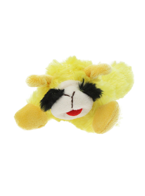 Baa Baa Yellow Sheep Plush Squeaky Dog Toy