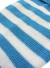 Blue & White Candy Stripe Sweater