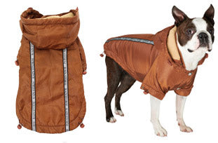 Here at Smiley Myley is our new Bronze Rainstorm Raincoat which will protect your Dog from the rain