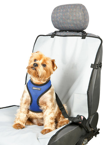 Front Car Seat Cover for your pet dog from Smiley Myley