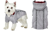 Here at Smiley Myley comes our new Grey Rainstorm Raincoat which will protect your Dog