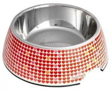 Show just how much you love them with the LOVE LOVE bowl which is covered in hearts from fuzzyard