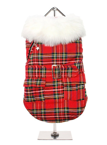 MacGregor Quilted Tartan Coat for Dogs by UrbanPup from Smiley Myley