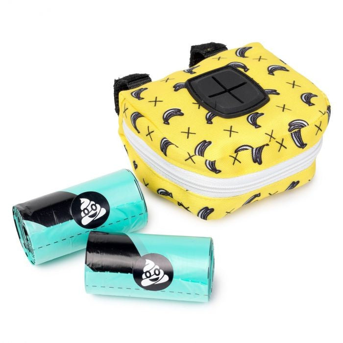 Keep your doggie poo bags hidden away in a Monkey Mania Poop Bag Dispenser, from Fuzzyard.