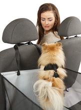 Rear Car Seat Dog Cradle for your pet dog with Smiley Myley