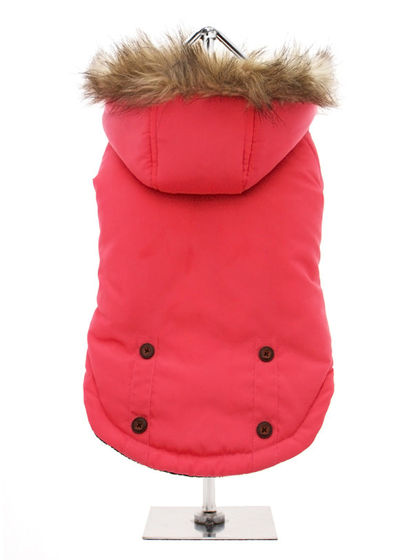 Salmon Pink Alpine Coat for Dogs by UrbanPup from Smiley Myley