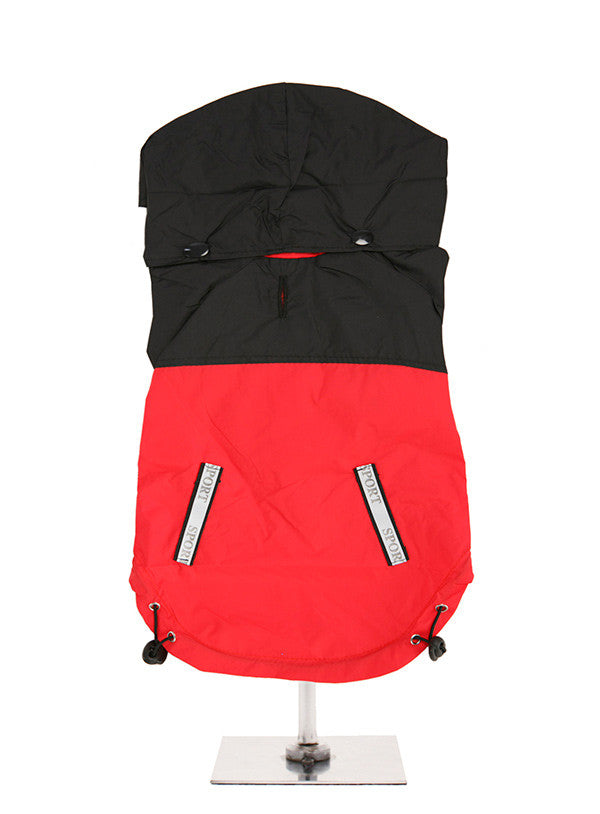 Here at Smiley Myley comes this lightweight trailfinder red & black jacket