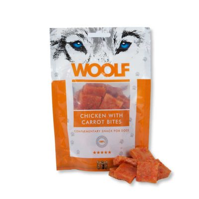 Woolf - Chicken with Carrot bites 100g