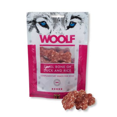 Woolf - Small Bone of Duck and Rice 100g