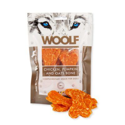 Woolf - Chicken, Pumpkin and Oats Bone 100g
