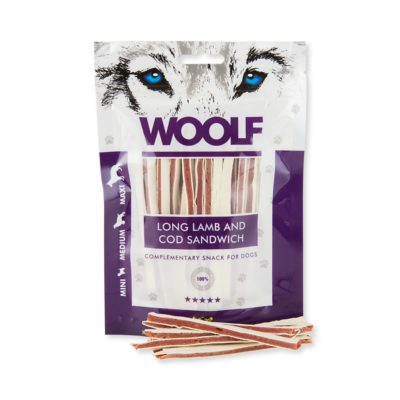 Woolf - Long Lamb and Cod Sandwich 100g