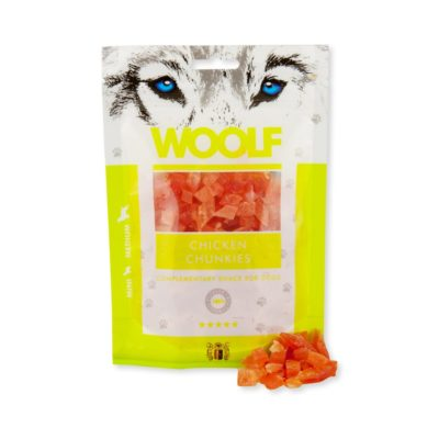 Woolf - Chicken Chunkies 100g
