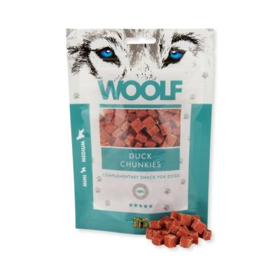 Woolf - Duck Chunkies 100g
