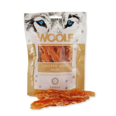 Woolf - Chicken Jerky Bars 100g