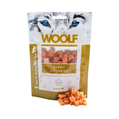 Woolf - Rabbit Chunkies 100g
