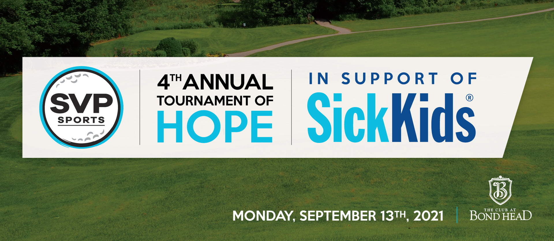 2021 SVP Sports Tournament of Hope in Support of SickKids