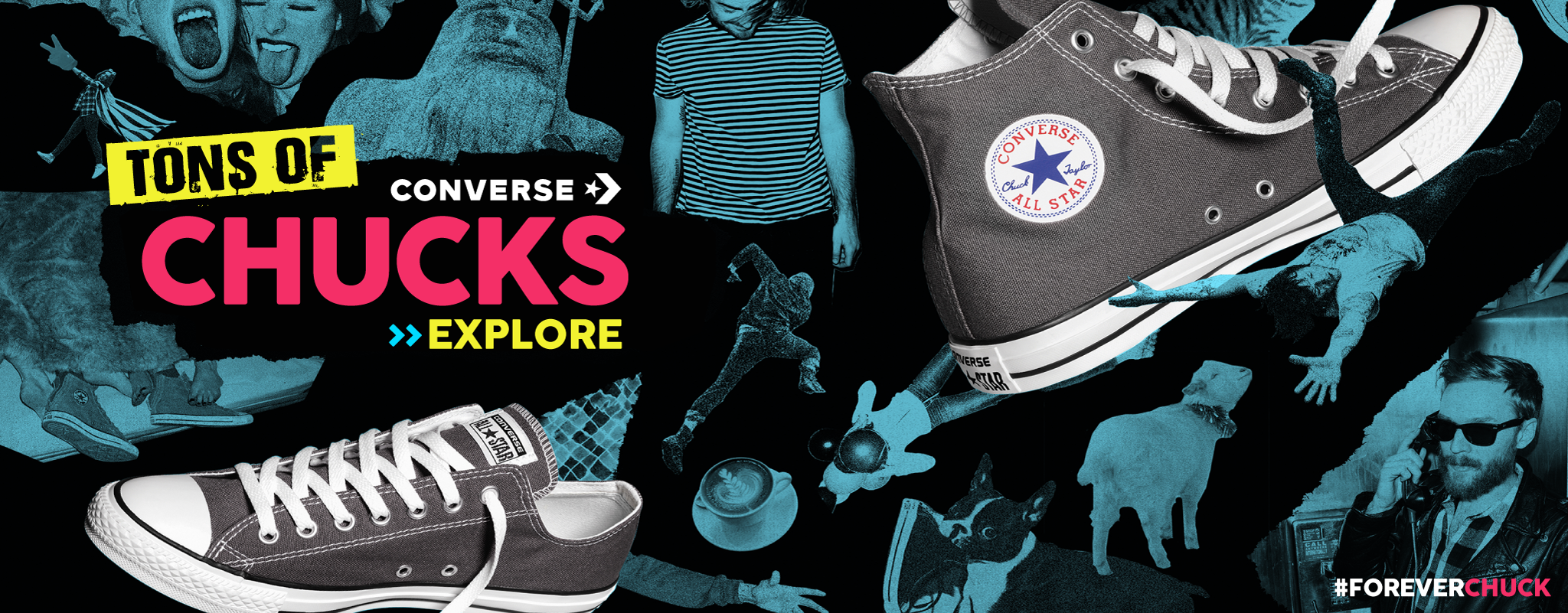 Converse - Men's, Women's & Kid's Footwear, Apparel and Accessories