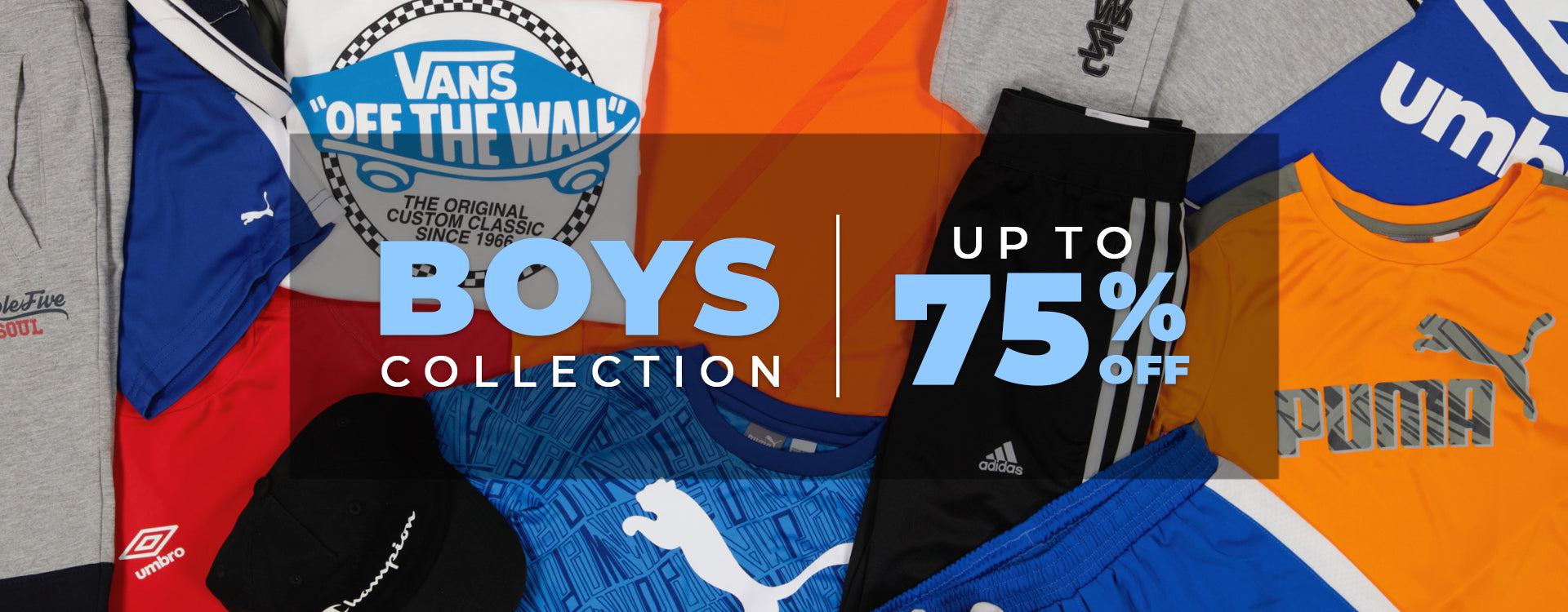 Boy's Collection Up To 75% Off