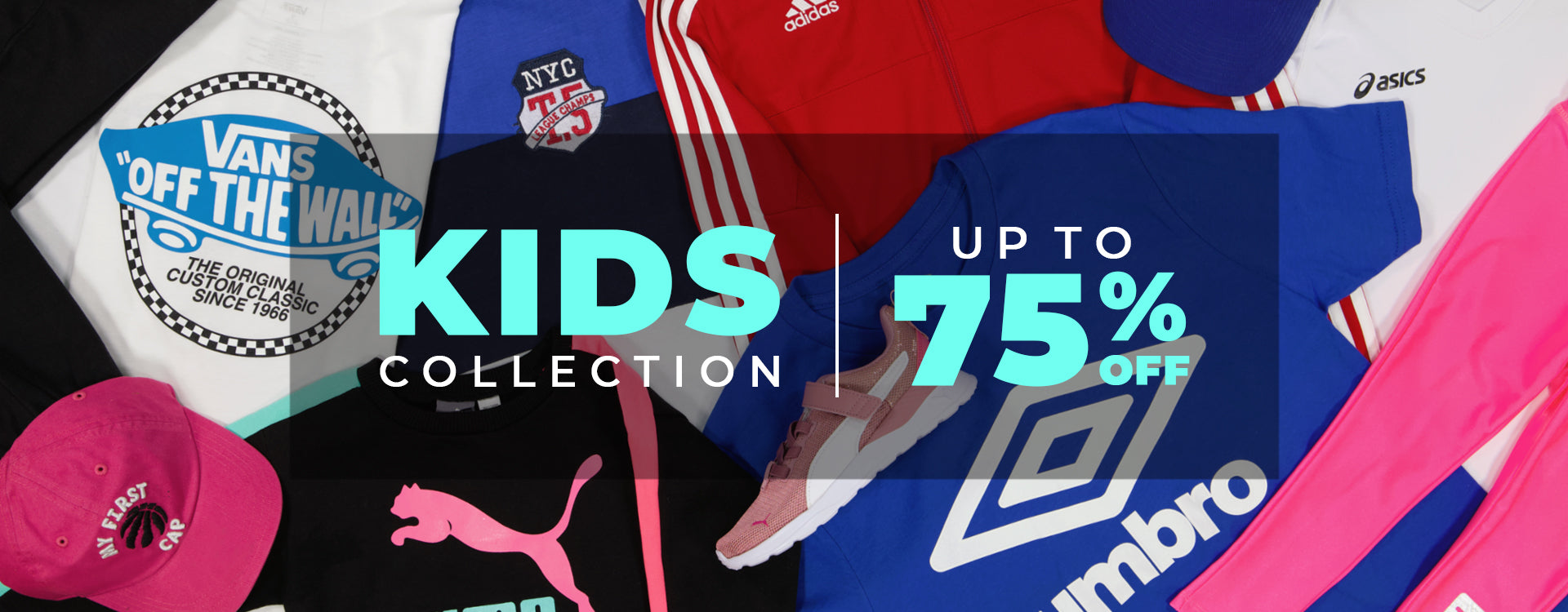 Kids' Collection Up To 75% Off