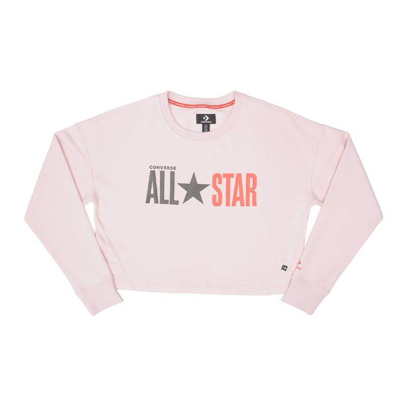Converse - Women's All Star Fleece Long Crew (10018308 A03)