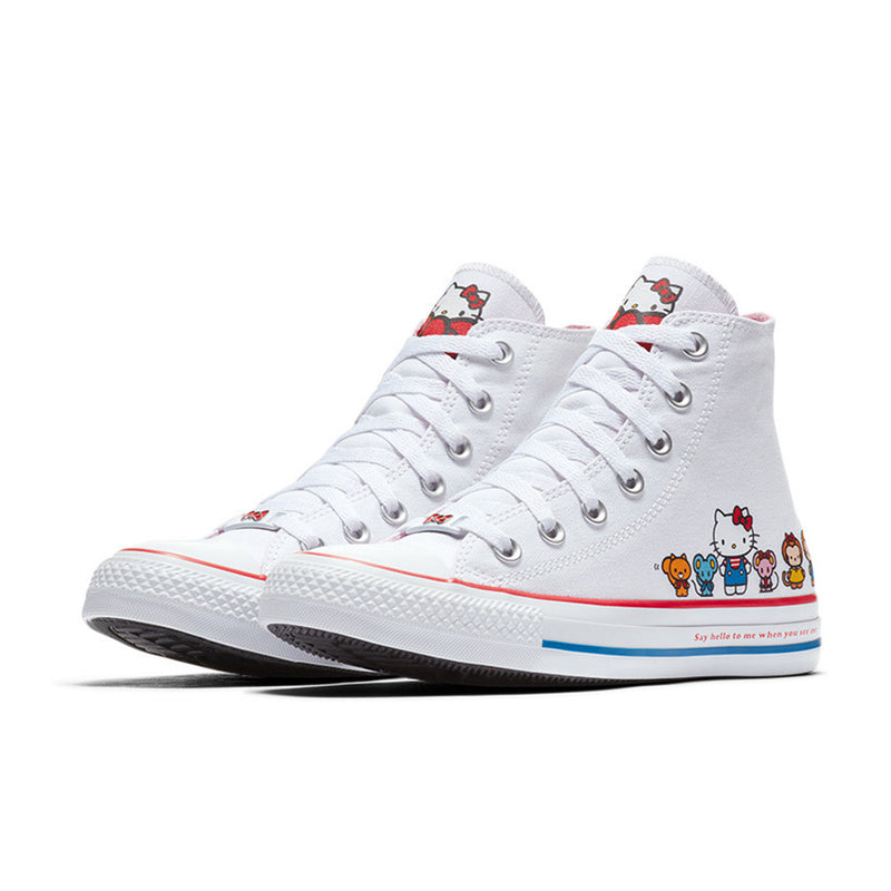 Star High Top Hello Kitty Shoes