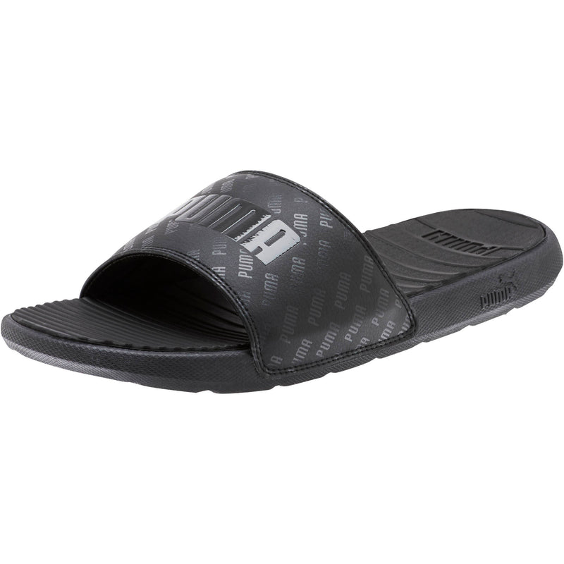 Puma - Men's Cool Cat Bold Graphic Slides (371055 01)