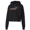 Puma - Women's Essentials Metallic Cropped Hoody (582411 51)