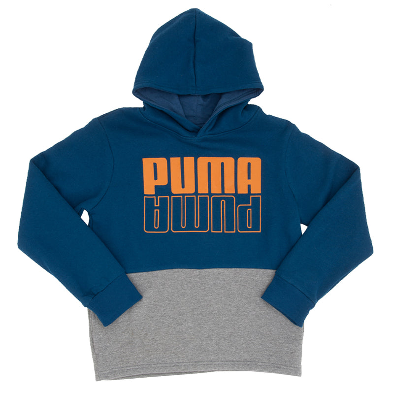 Puma - Kids' (Junior) Up N Down Pullover Hoody (91192366FME P450)