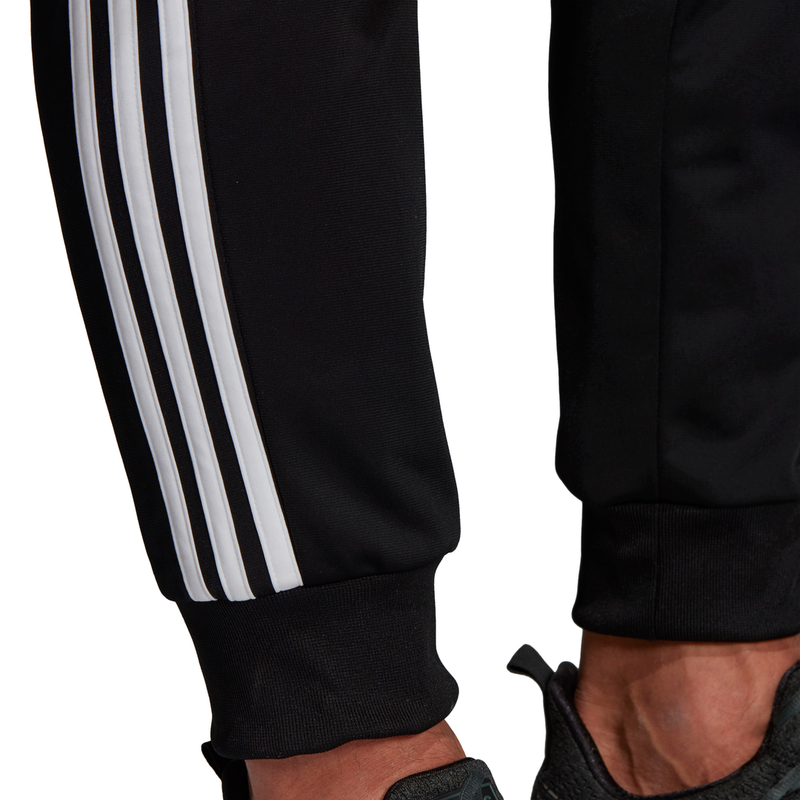 adidas - Men's Essentials 3-Stripe Tapered Tricot Pants (DQ3076)