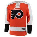 Fanatics - Men's Philadelphia Flyers Breakaway Lace Up Crew (6A51 BTB 2Q AHN)