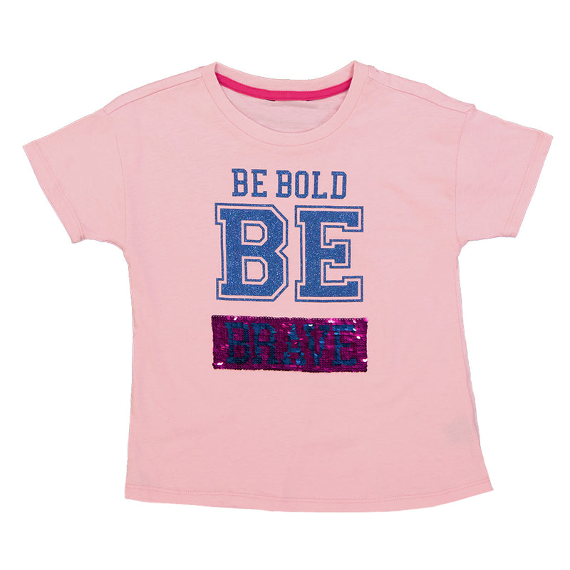Kids' (Junior) Be Bold and Strong Tee (XTXT0S0QSC)