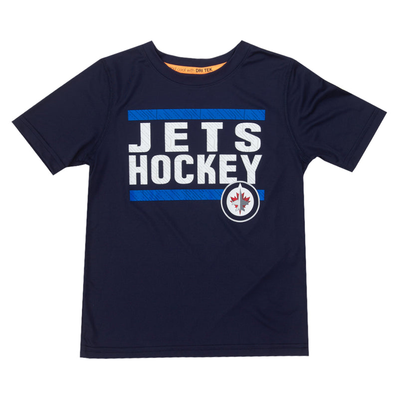 NHL - Kids' (Junior) Winnipeg Jets Tee (HK5B3HAHD WNP)