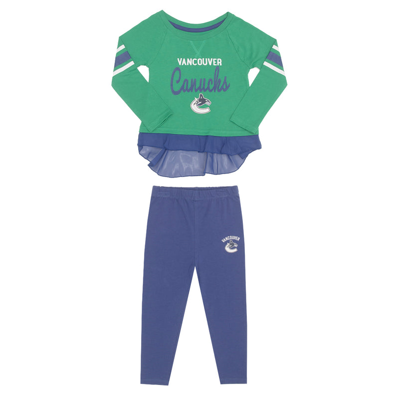 NHL - Kids' (Toddler) Vancouver Canucks Long Sleeved Set (HK5T1HAG4 CNK)