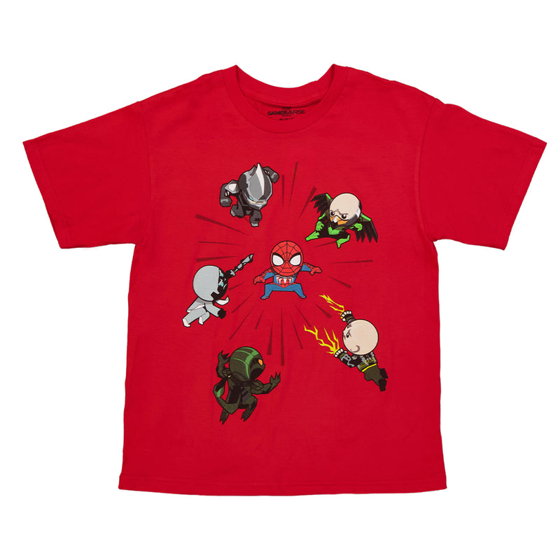 Marvel - Kids' (Junior) Chibi Attack Tee (MVMG01PYSC)