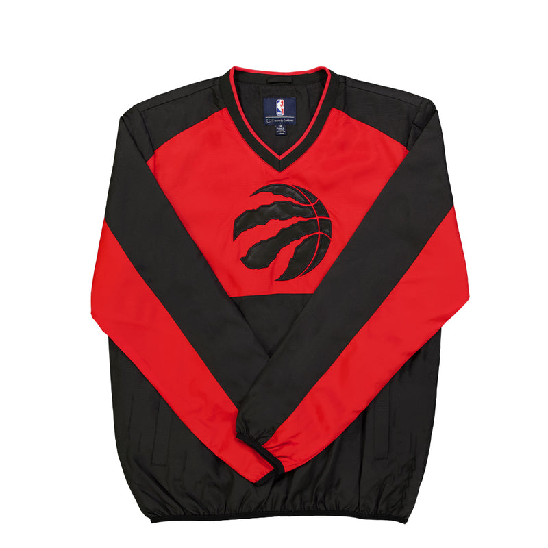 NBA - Men's Toronto Raptors High Heat V-Neck Pullover (LA030922 TRP)