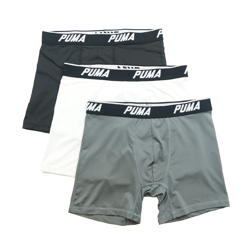 Puma - Men's 3 Pack Performance Boxer Briefs (PMTBBWI 990)