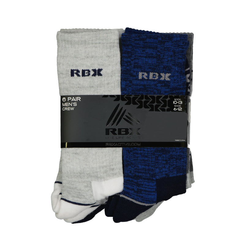 RBX - Men's 6pk Crew Sock (RBX116159 109)