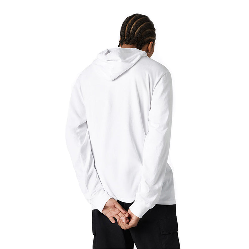 Converse - Men's Long Sleeve Hooded Graphic Tee (10019477 A03)