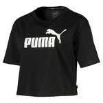 Puma - Women's Essentials Cropped Logo Tee (852594 01)