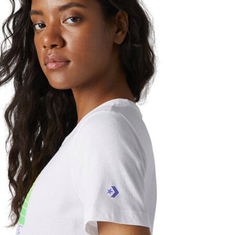 Converse - Women's Icon Remix SS Classic Crew Tee (10017094 A01)