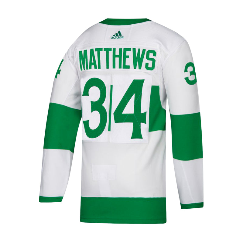 adidas - Men's Maple Leafs Matthews St. Pats Authentic Jersey (CT0810)