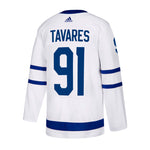adidas - Men's Maple Leafs Tavares Authentic Away Jersey (FI1348)
