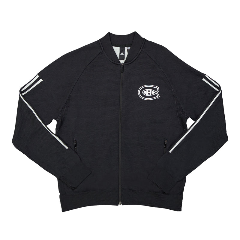 adidas - Men's Montreal Canadiens ID Knit Track Top (EK3360)