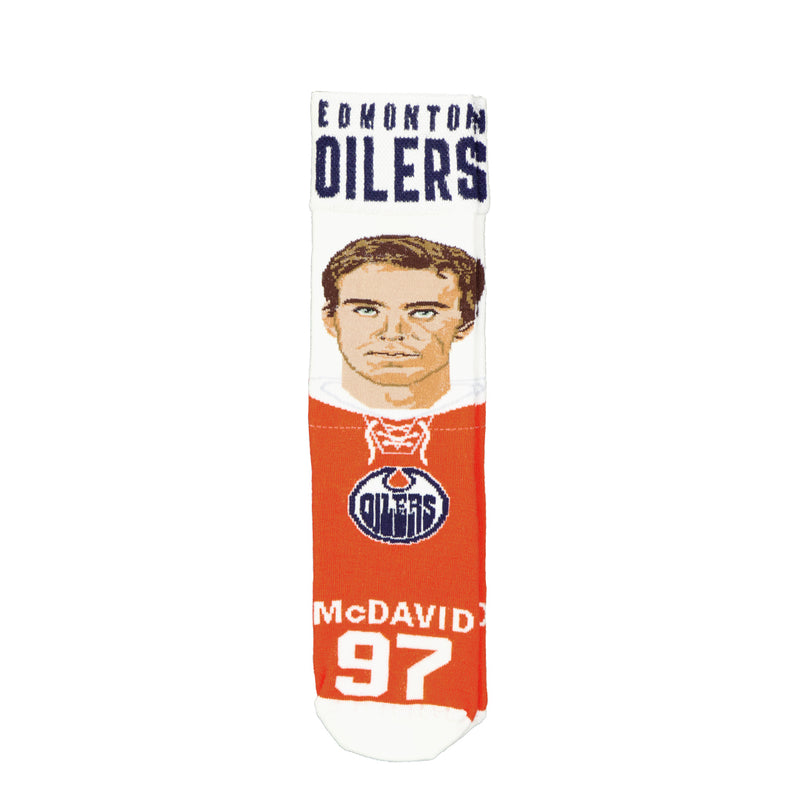 FBF - Kids' (Junior) Connor McDavid Selfie Sock (505-7SELFIE K MCDAVID)