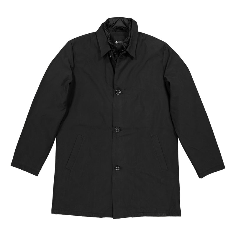 Haggar - Men's Trench Coat (HMO7F509-R02 BLK)