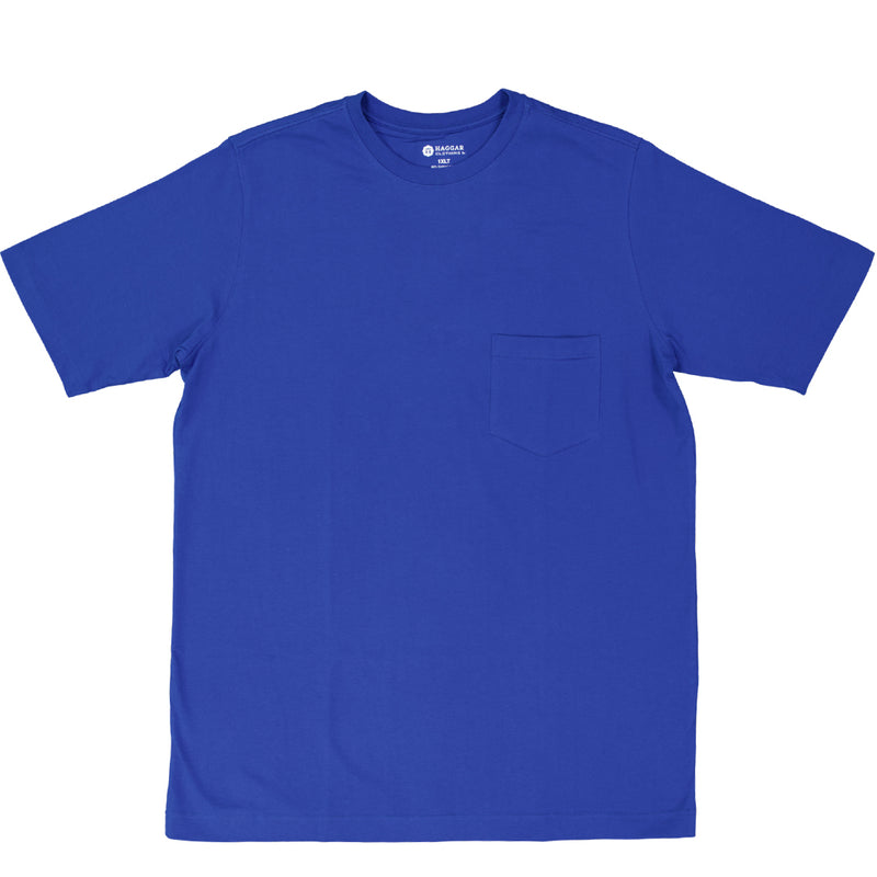 Haggar - Men's Pocket Tee (Tall) (HPKT-CPY-RYL-LT)
