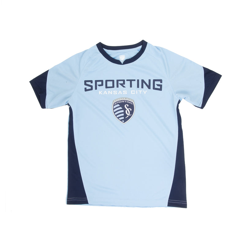 MLS - Kids' (Junior) Sporting Kansas City Jersey Top (KC8T6U KC)