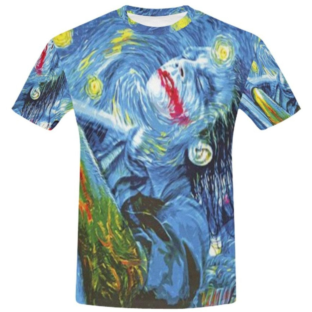 Starry Joker Night T-Shirt All Over Print