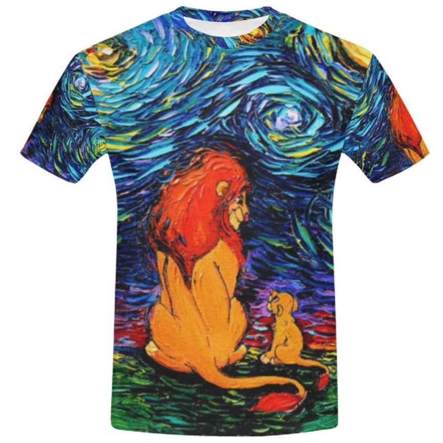 Starry Lion King T-Shirt